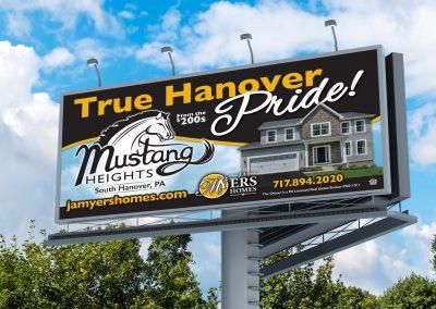 JA Myers Homes Billboard