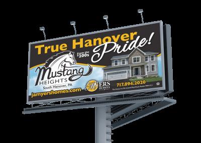 Mustang Heights Billboard