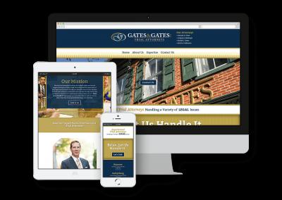Gates & Gates Trial Attorneys Website