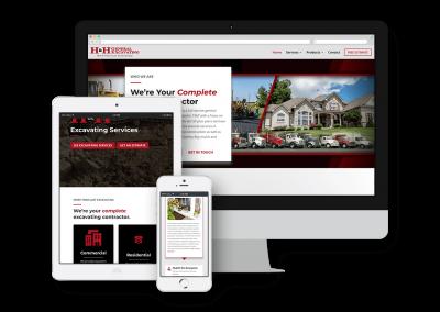 H&H General Excavating Website