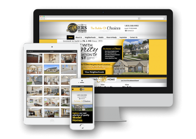 J.A. Myers Homes Website