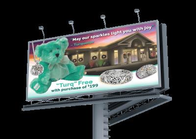 Garrick Jewelers Billboard bear
