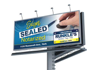 Runkle's Billboard: Notary