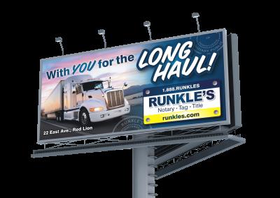Runkle's Billboard: Long Haul