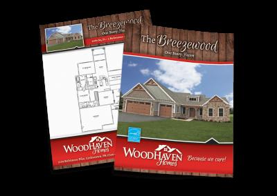 Woodhaven Homes Model Sheet (Breezewood)