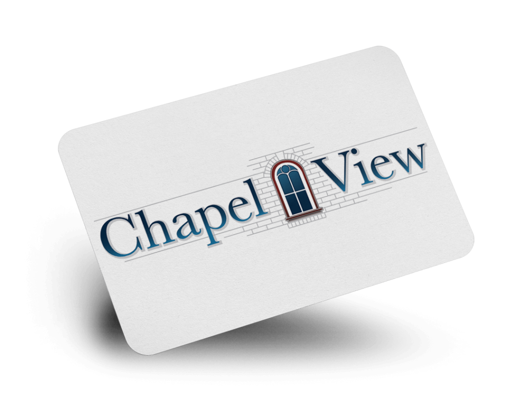 Chapel View Logo Design By Why Not Advertising, LLC