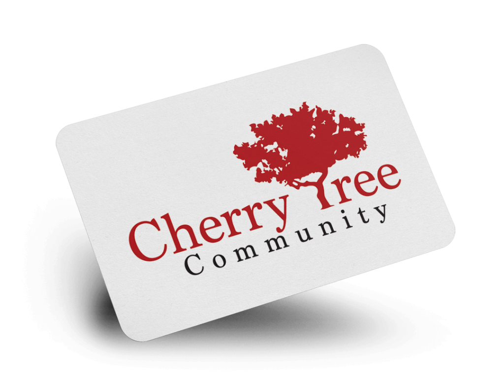 Cherry Tree Logo Design By Why Not Advertising, LLC