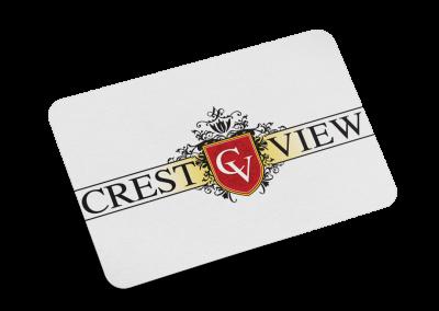 Crest View Logo Design