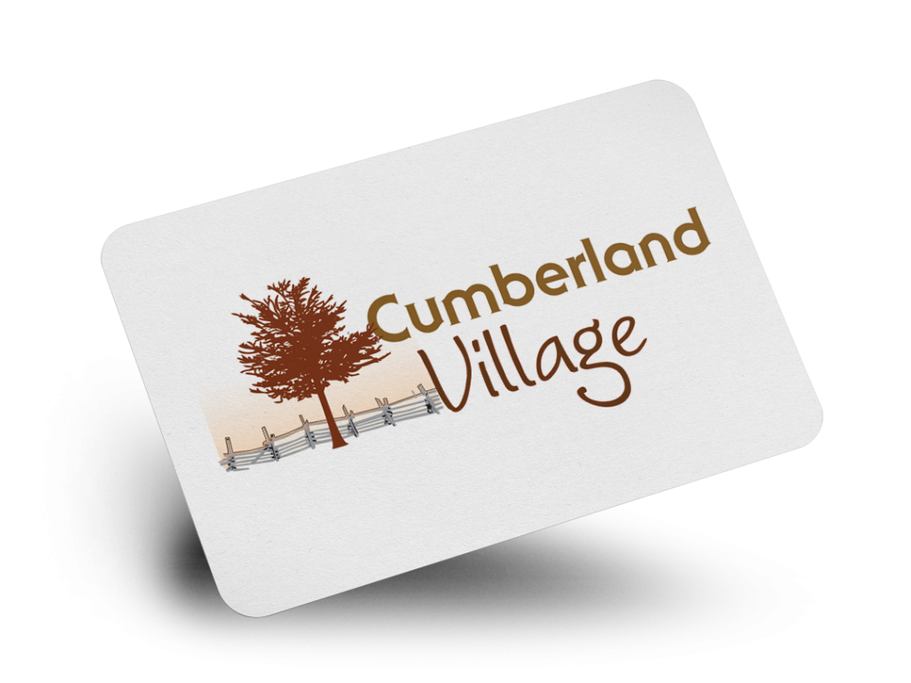 Cumberland Village Logo Design By Why Not Advertising, LLC