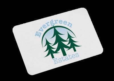 Evergreen Estates Logo Design