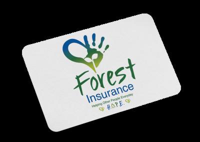 Forest Insurance Logo Design