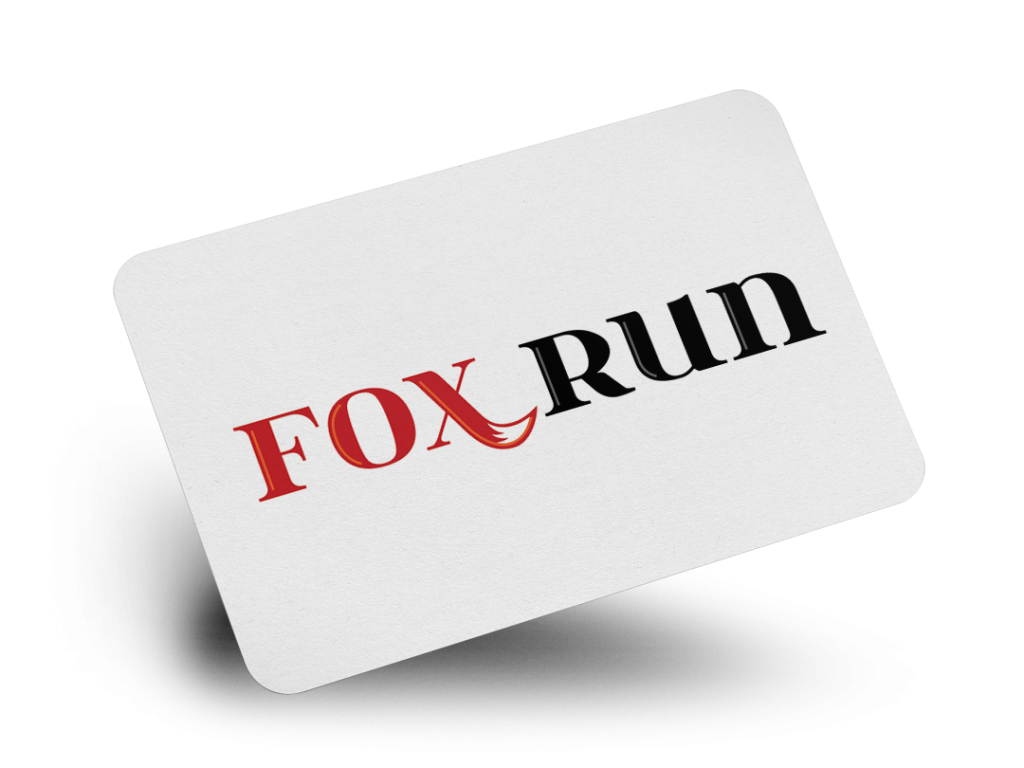 Fox Run Logo Design By Why Not Advertising, LLC
