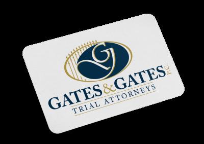 Gates & Gates Logo Design