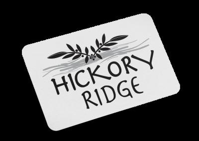 Hickory Ridge Logo Design