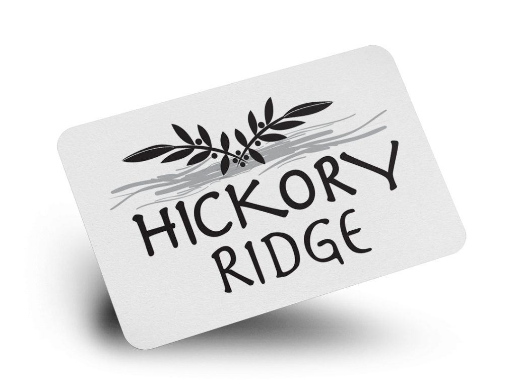 Hickory Ridge Logo Design By Why Not Advertising, LLC