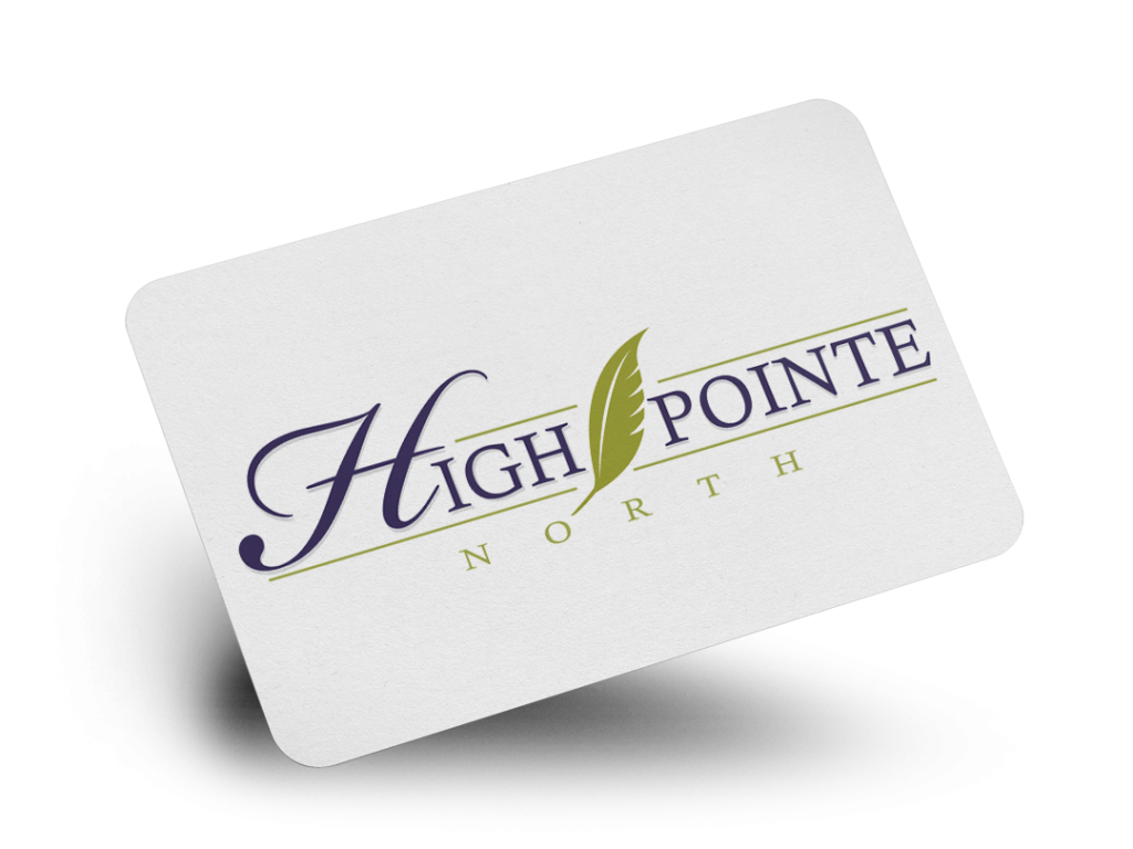 High Pointe North Logo Design By Why Not Advertising, LLC