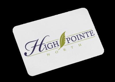 High Pointe North Logo Design