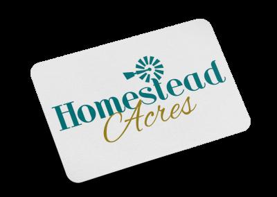Homestead Acres Logo Design