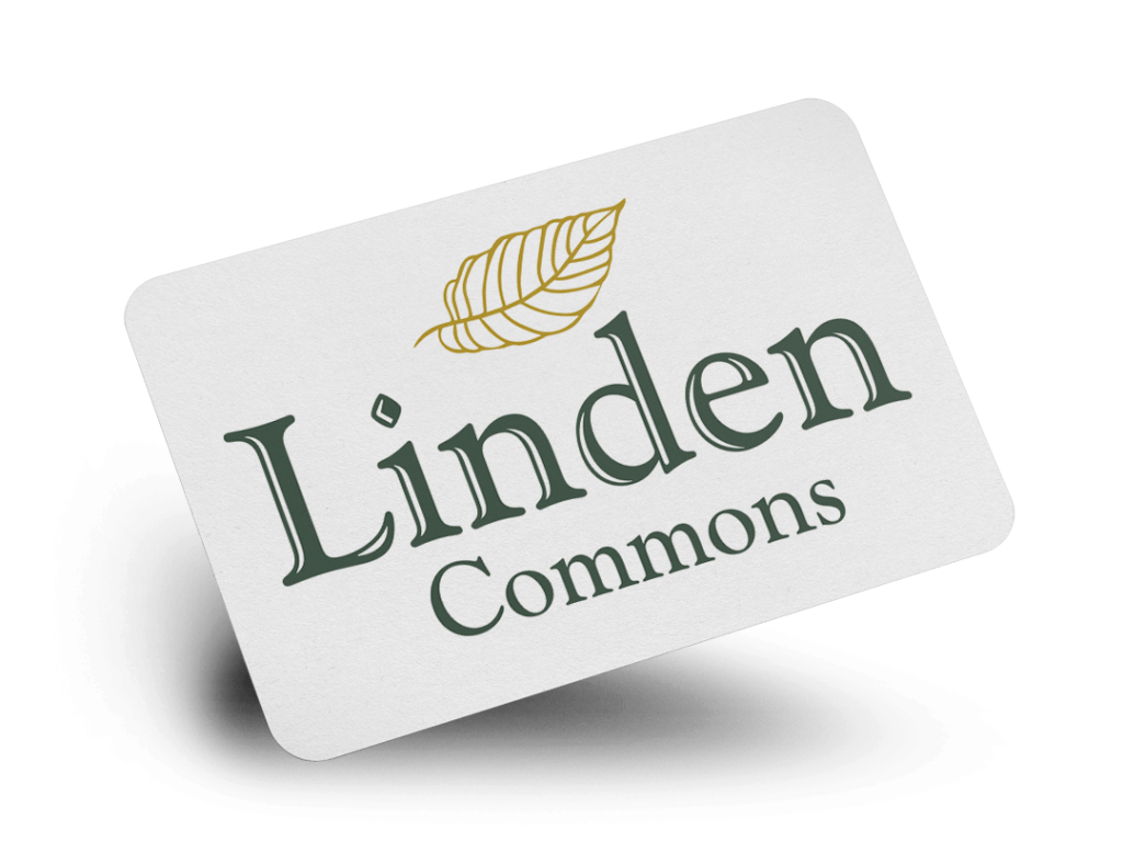 Linden Commons Logo Design By Why Not Advertising, LLC