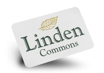 Linden Commons Logo Design