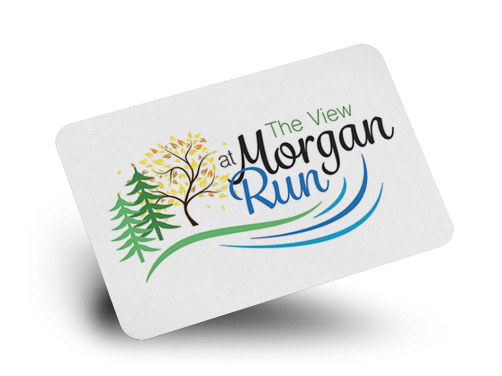 Morgan Run Logo Design By Why Not Advertising, LLC