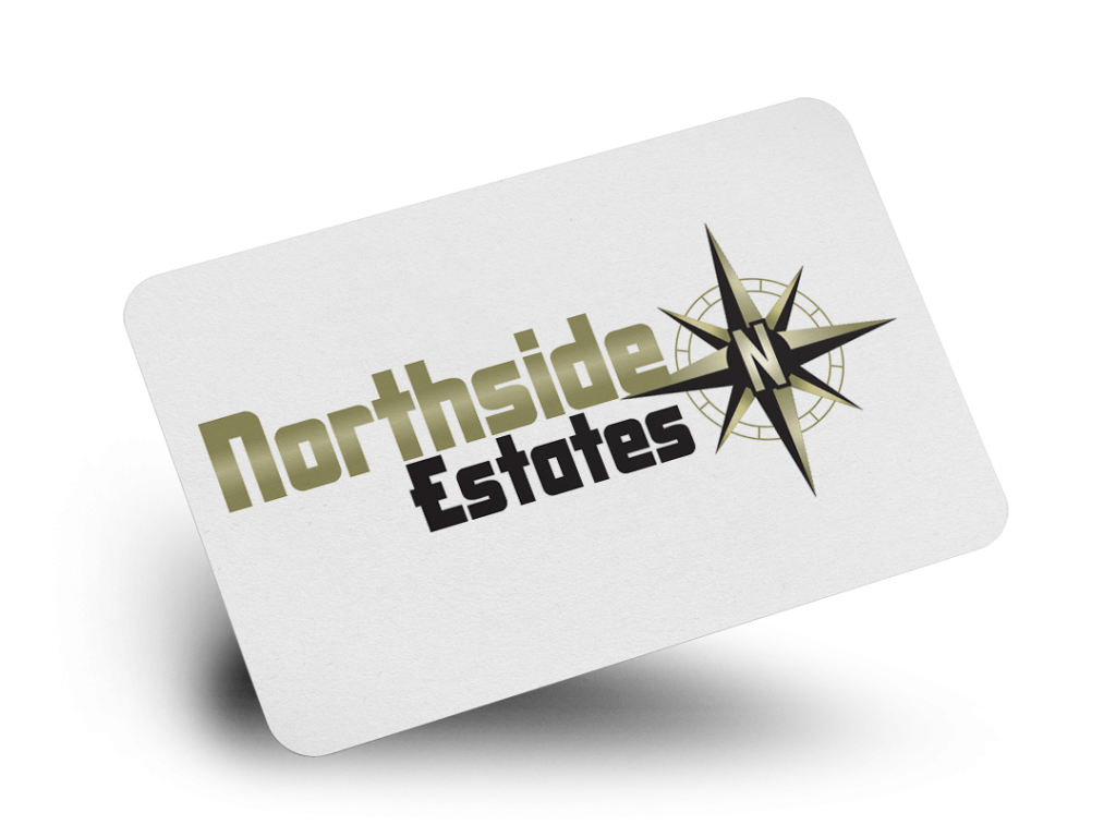 Northside Estates Logo Design By Why Not Advertising, LLC
