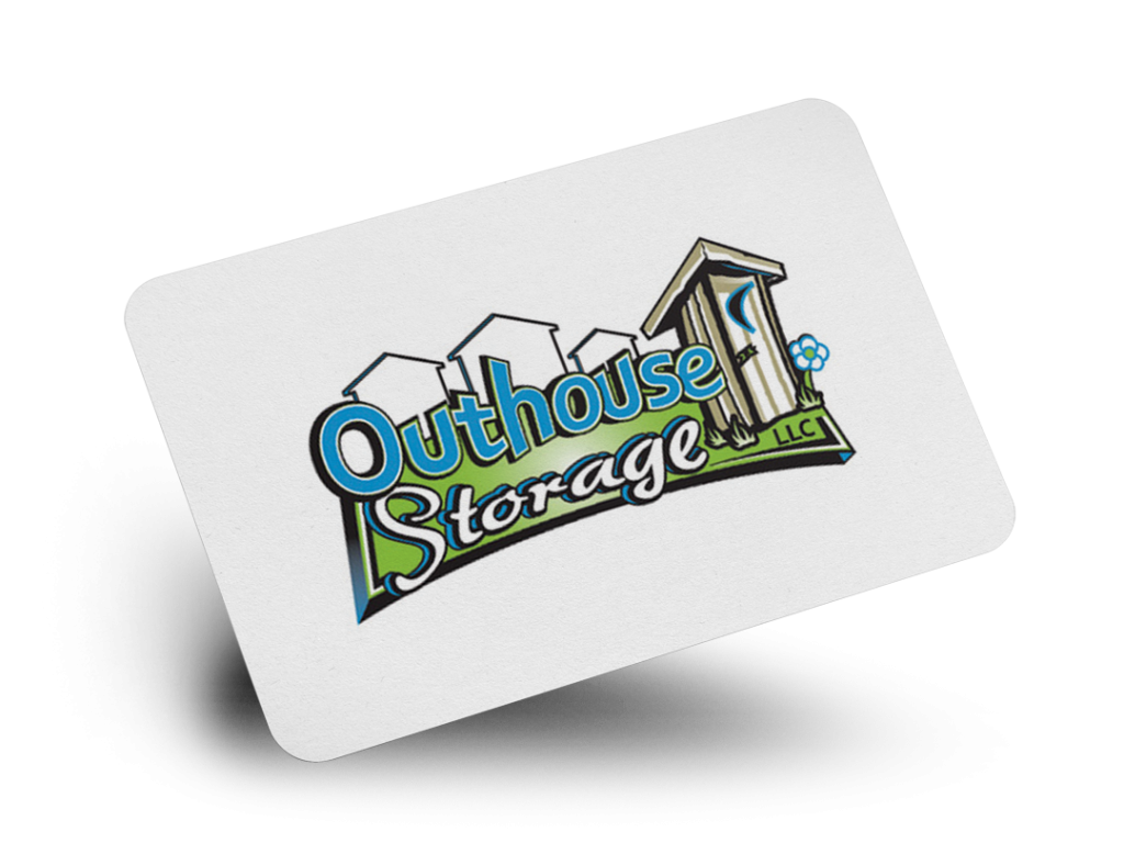 Outhouse Storage Logo Design By Why Not Advertising, LLC