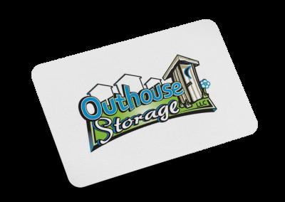 Outhouse Storage Logo Design