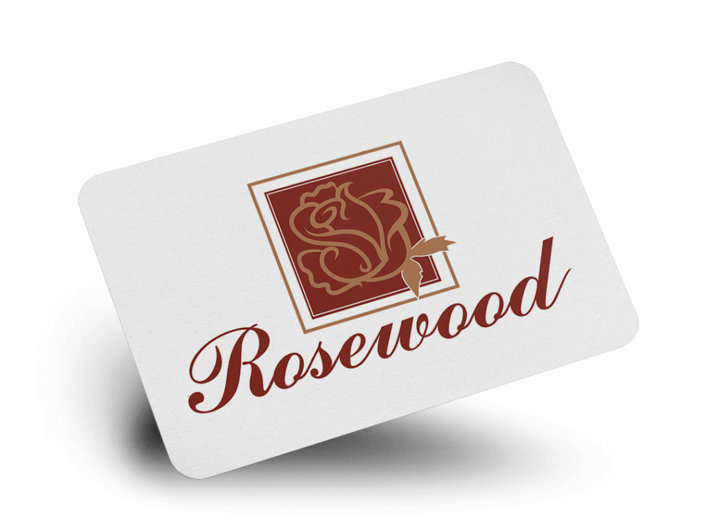 Rosewood Logo Design By Why Not Advertising, LLC