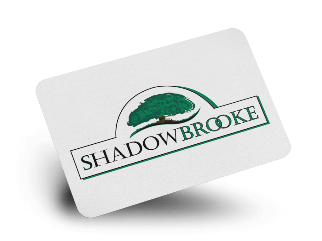 Shadowbrooke Logo Design By Why Not Advertising, LLC