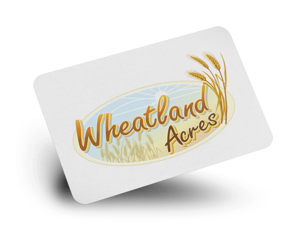Wheatland Acres Logo Design By Why Not Advertising, LLC