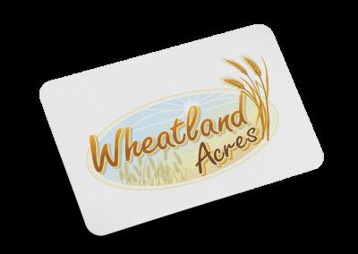 Wheatland Acres Logo Design