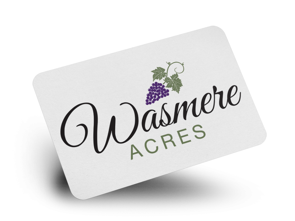 Wasmere Acres Logo Design By Why Not Advertising, LLC