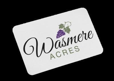 Wasmere Acres Logo Design