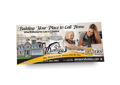 Building Your Place to Call Home Newspaper Ad