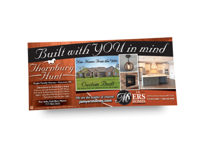 Built With You In Mind Newspaper Ad