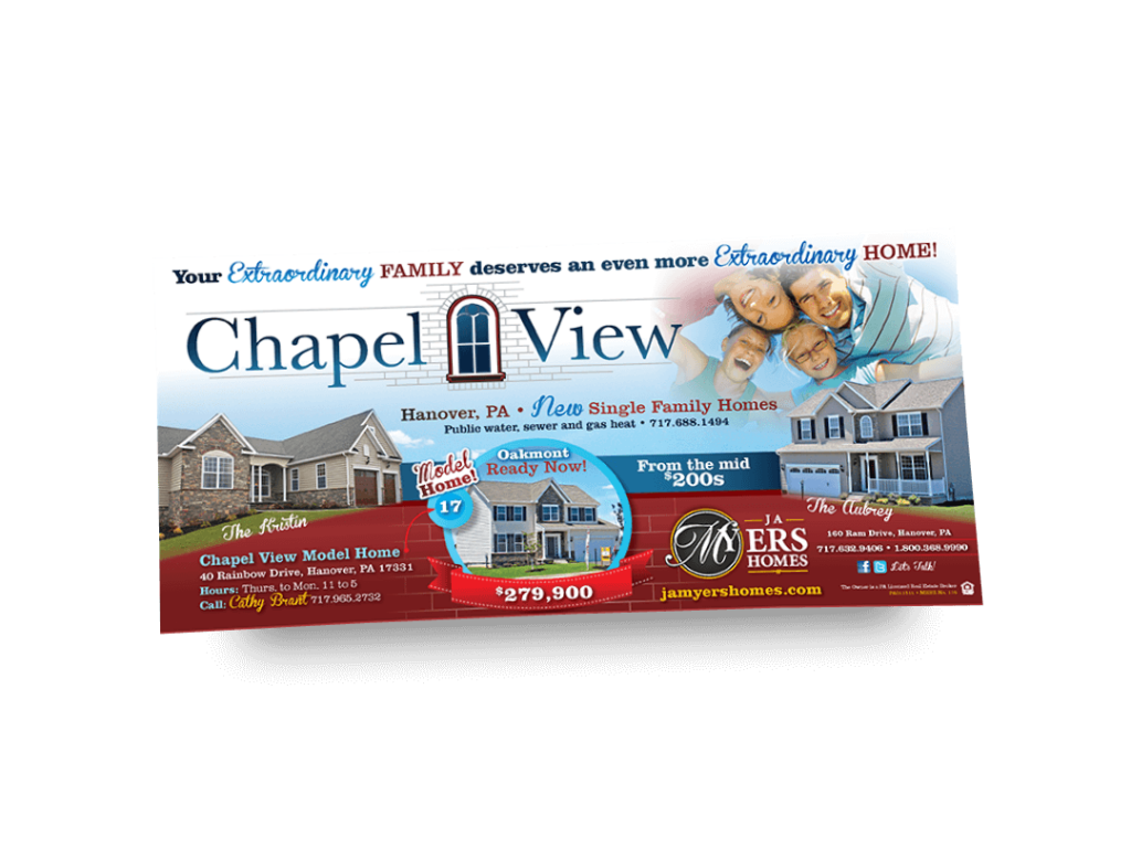 Chapel View Newspaper Ad Designed By Why Not Advertising, LLC