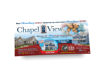 Chapel View Newspaper Ad
