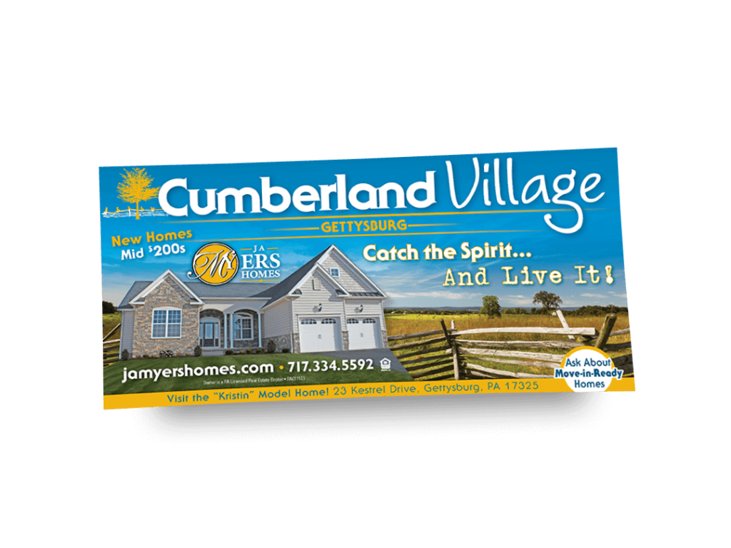 Cumberland Village Newspaper Ad Designed By Why Not Advertising, LLC
