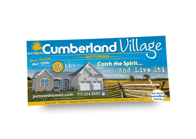 Cumberland Village Newspaper Ad