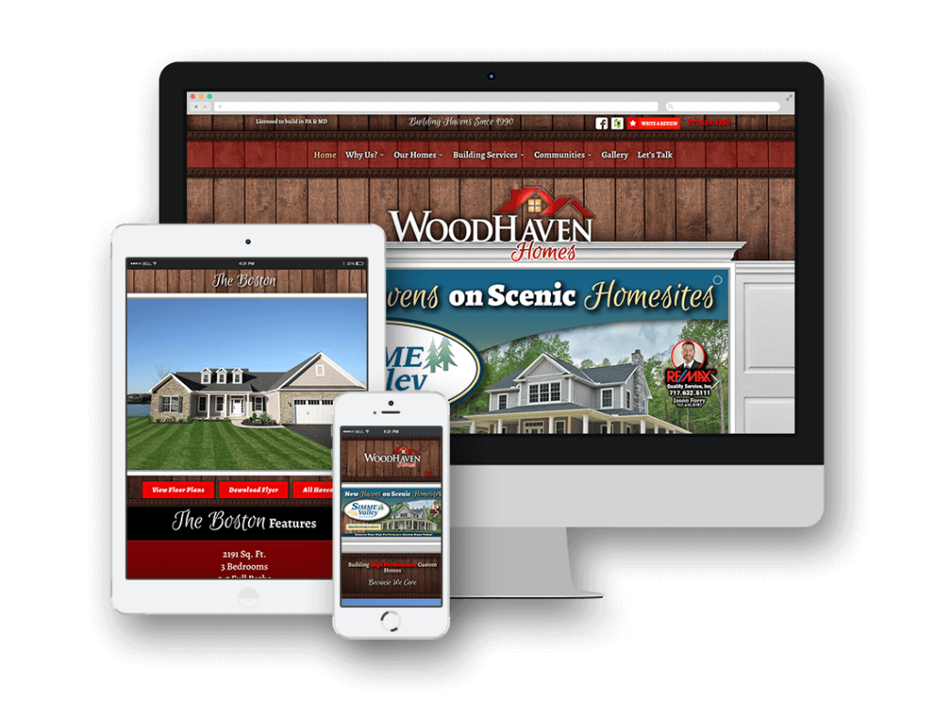 Featured Image - Woodhaven Homes Website