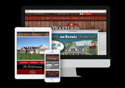 Woodhaven Homes Website