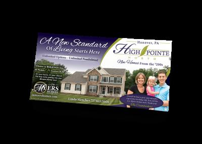 High Pointe North Newspaper Ad Design