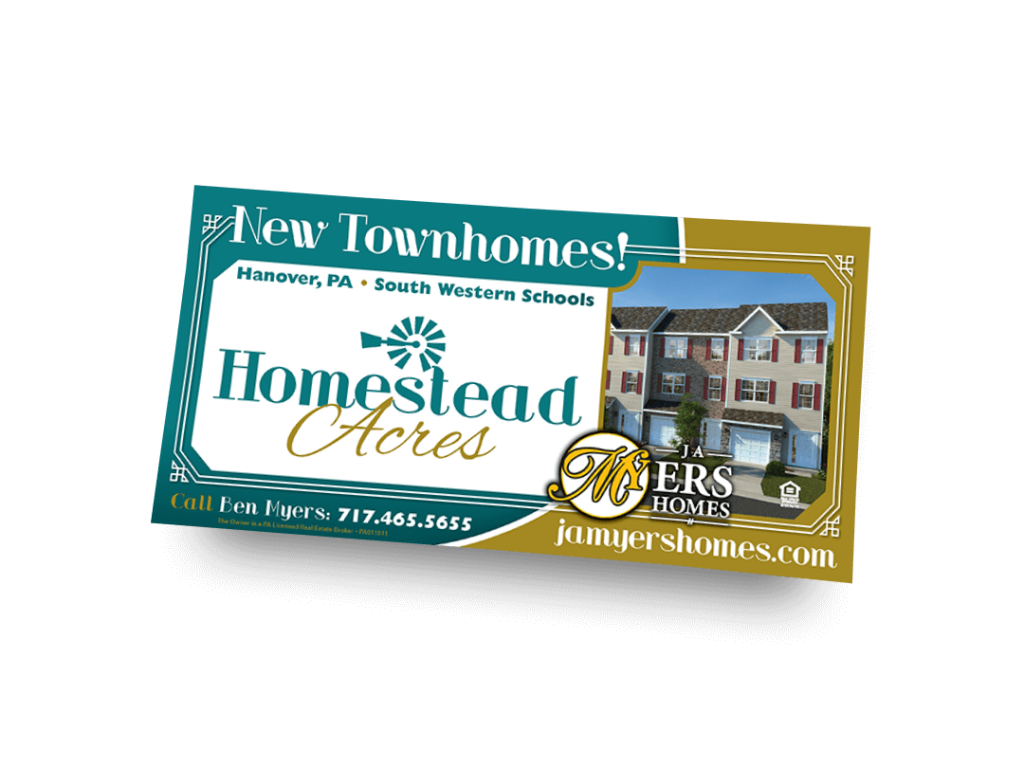 Homestead Acres Newspaper Ad Designed By Why Not Advertising, LLC