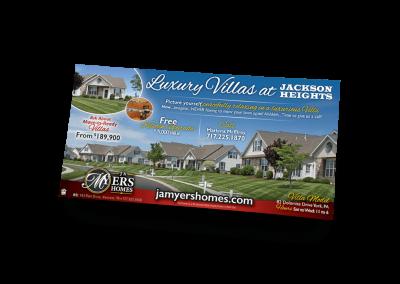 Luxury Villas Newspaper Ad Design