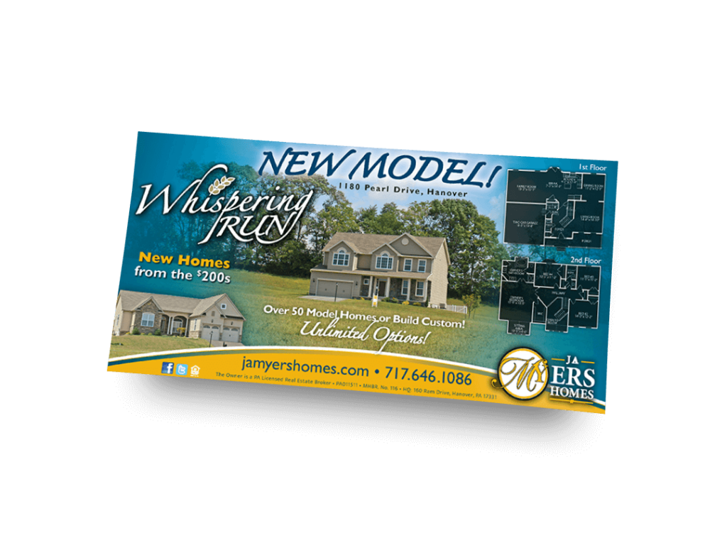 New Model Whispering Run Newspaper Ad Designed By Why Not Advertising, LLC