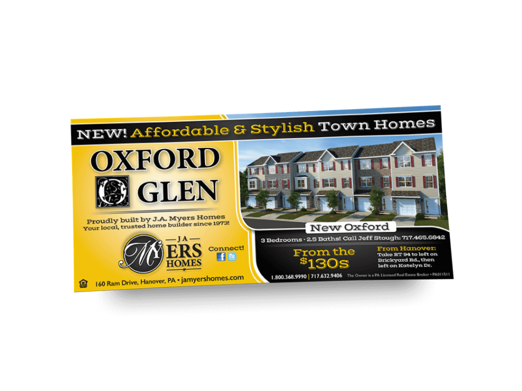 Oxford Glen Newspaper Ad Designed By Why Not Advertising, LLC