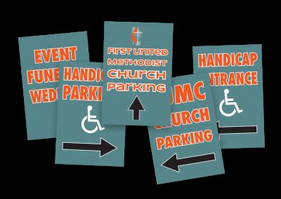 First United Methodist Church Signs
