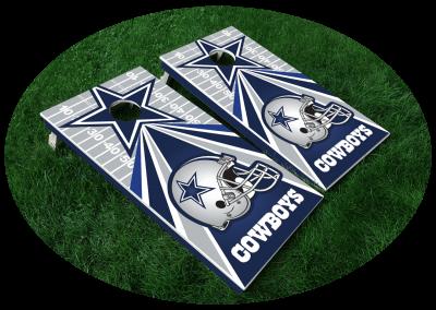 Cowboys Cornhole Board Design